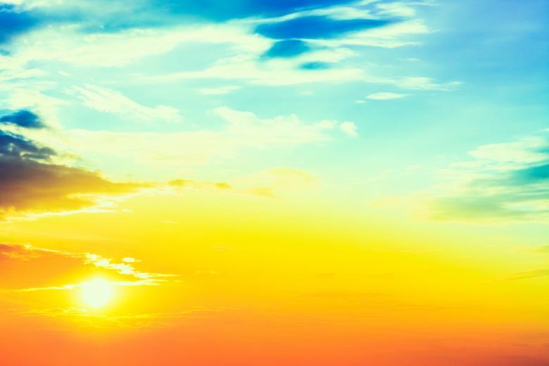 Hình ảnh bầu trời nắng đẹp