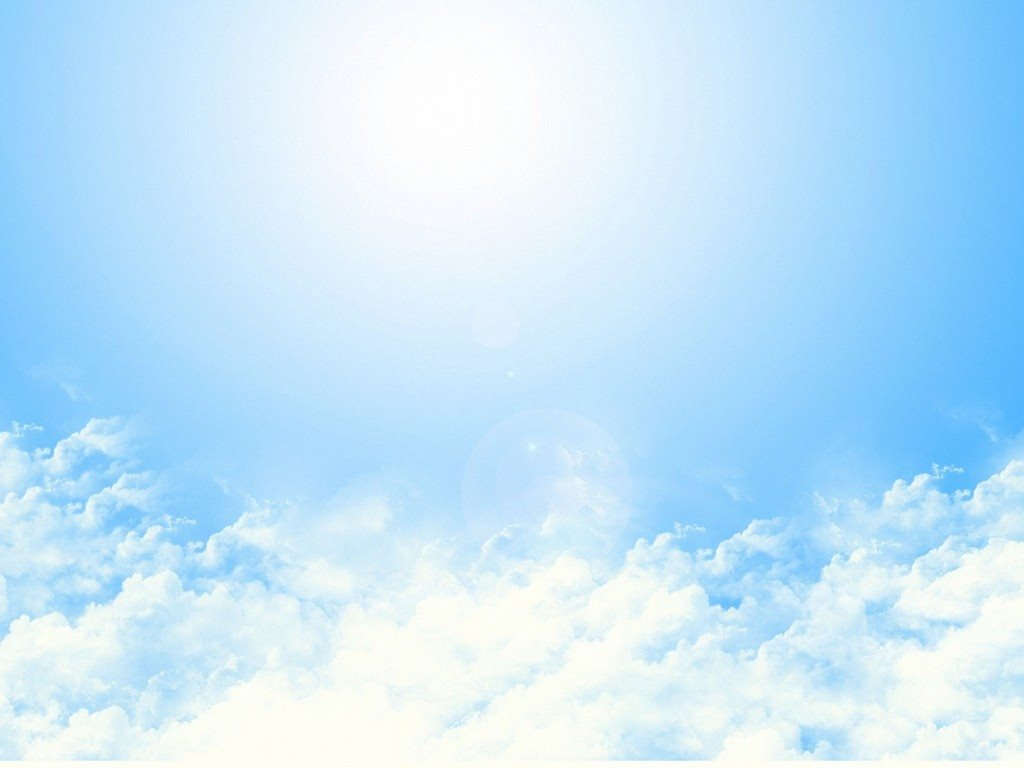 Hình ảnh bầu trời nắng xanh đẹp