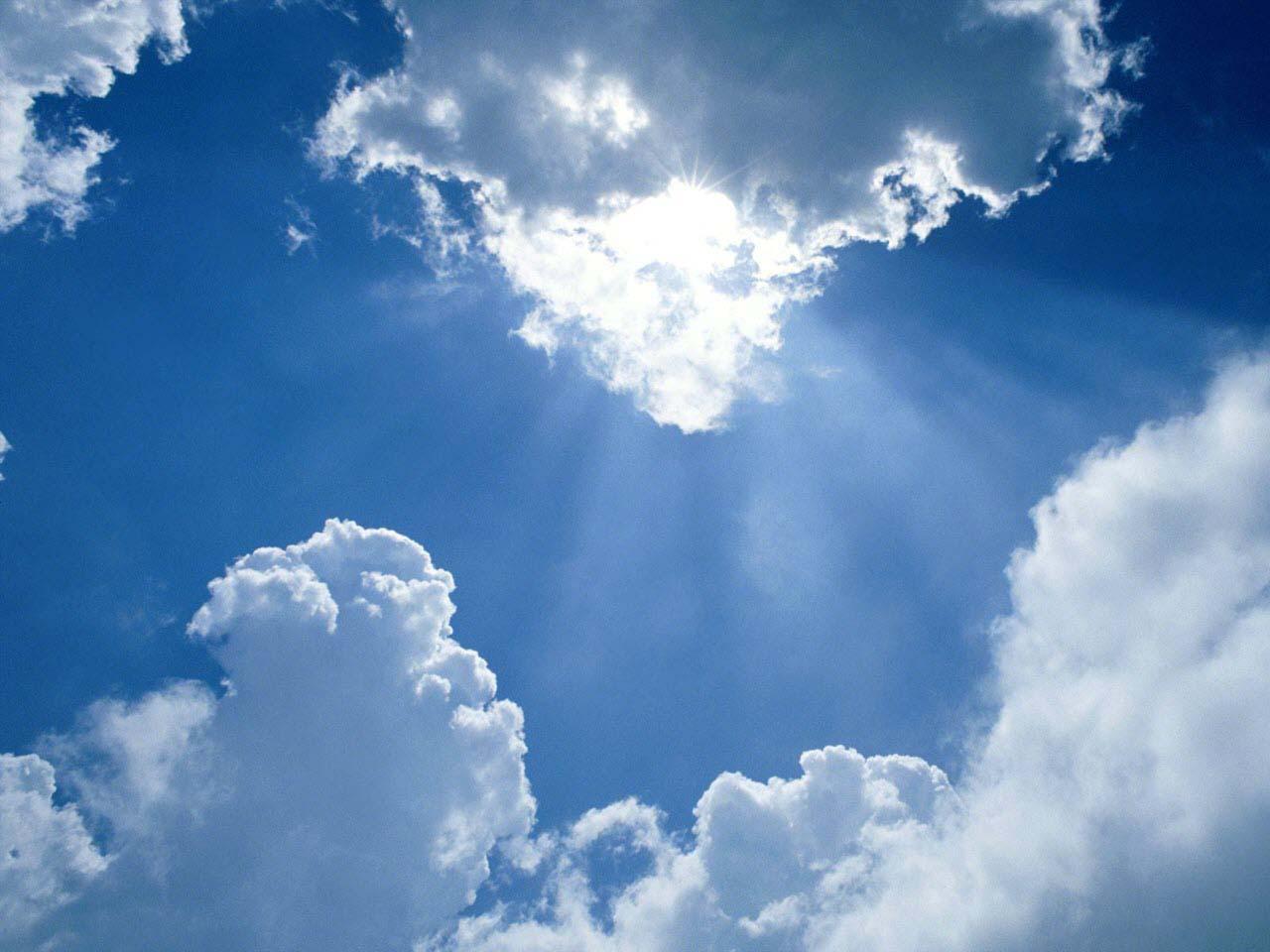 Hình ảnh bầu trời thơ mộng