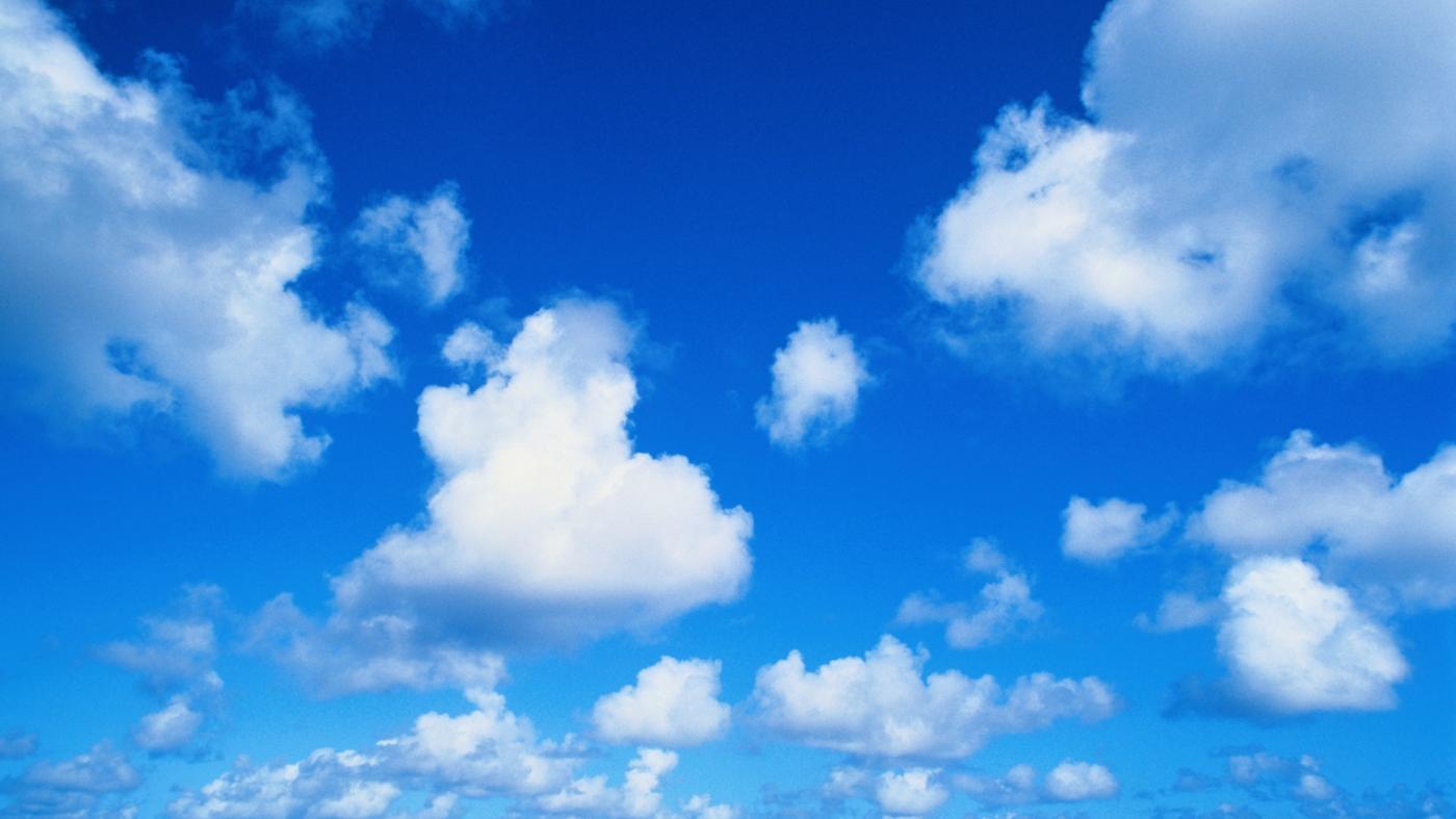 Hình ảnh bầu trời trong xanh