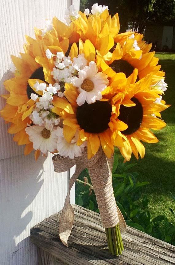 Hình ảnh bó hoa hướng dương đẹp nhất
