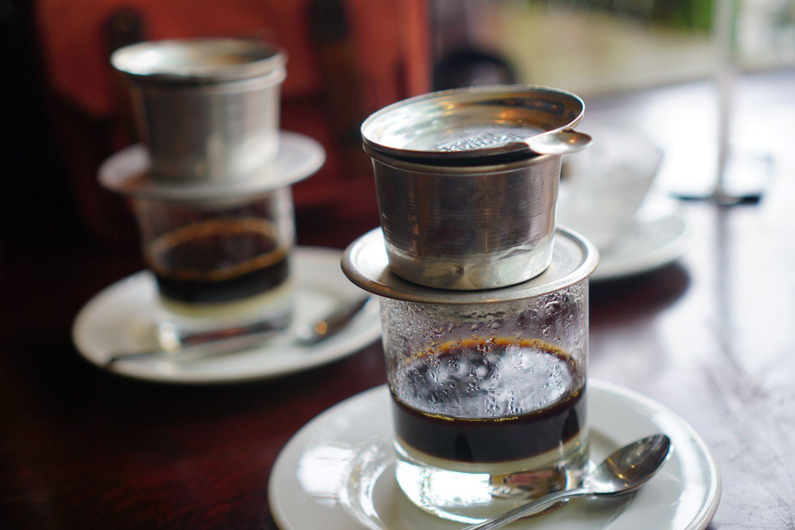 Hình ảnh cafe sữa phin đẹp