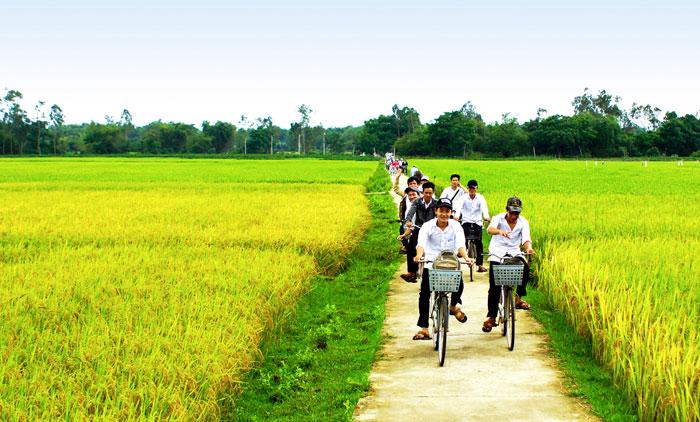 Hình ảnh đẹp làng quê Việt Nam