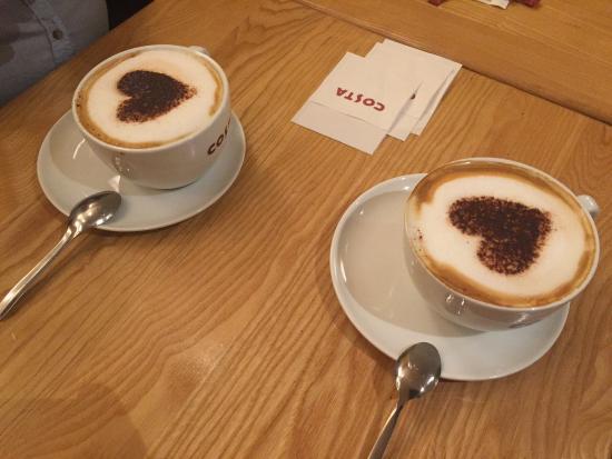 Hình ảnh hai ly cafe đẹp