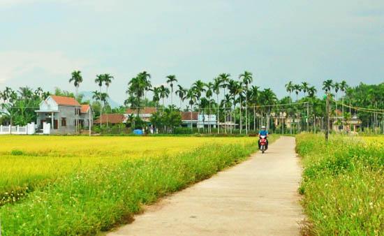 Hình ảnh làng quê Việt đổi mới