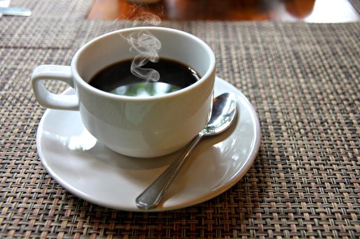 Hình ảnh ly cafe bốc khói