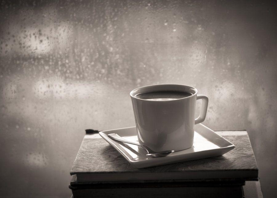 Hình ảnh ly cafe buồn