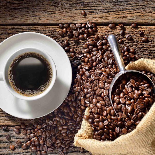 Hình ảnh ly cafe nguyên chất