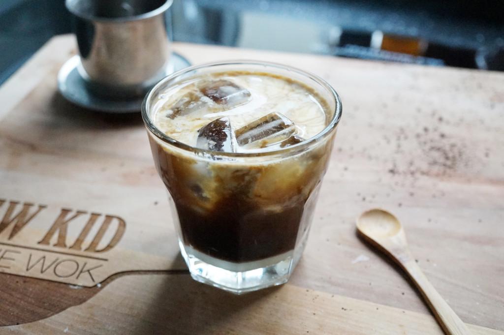 Hình ảnh ly cafe sữa đá