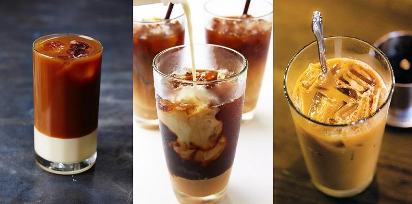 Hình ảnh ly cafe sữa