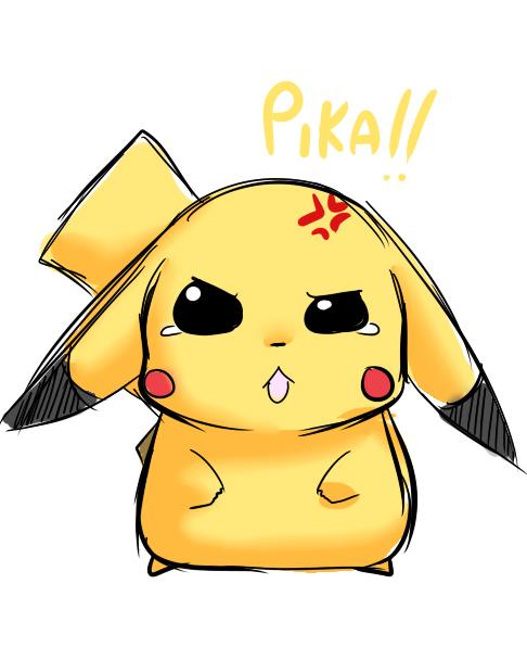 Hình ảnh pikachu chibi