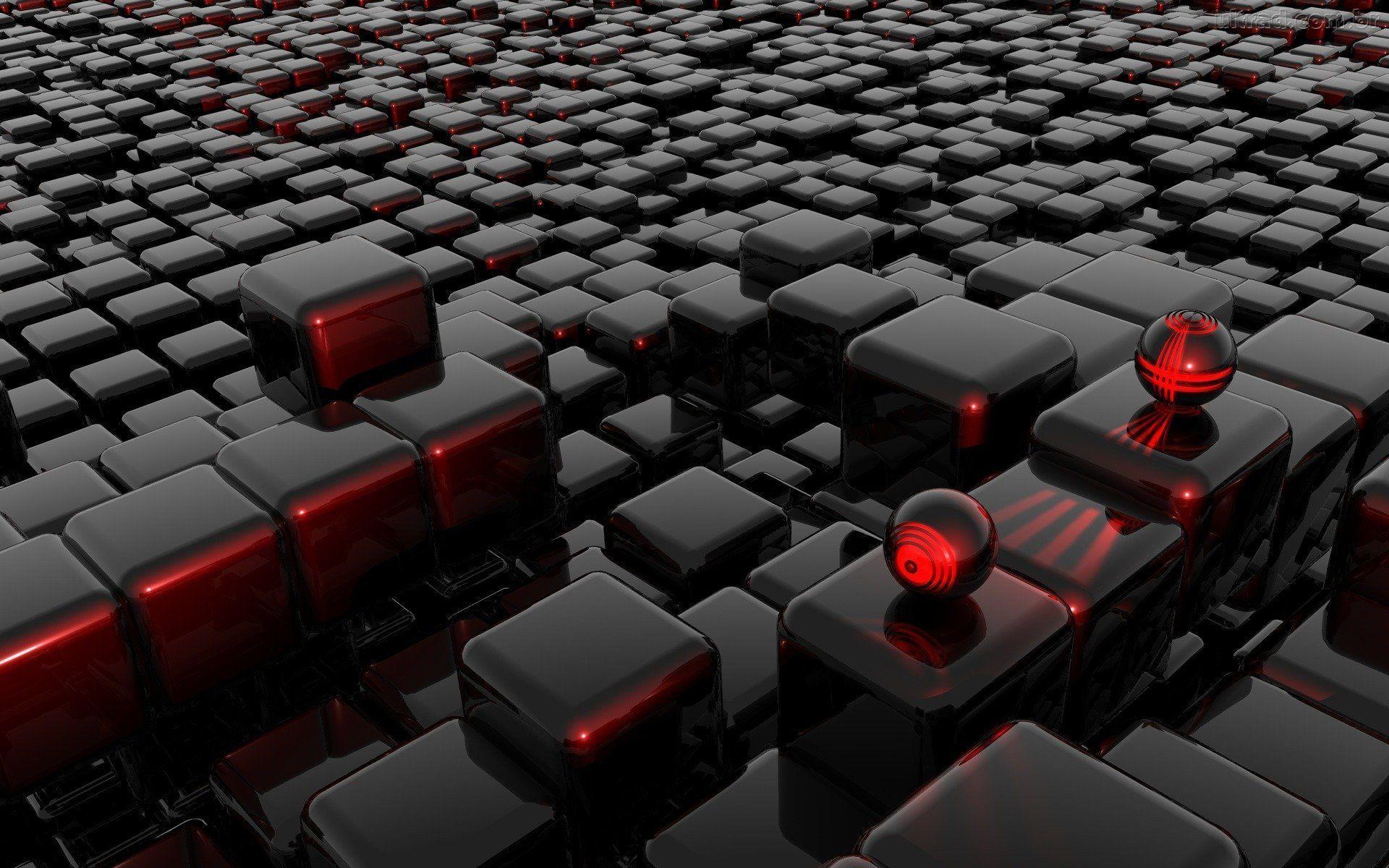 Hình nền công nghệ 3D cho máy tính