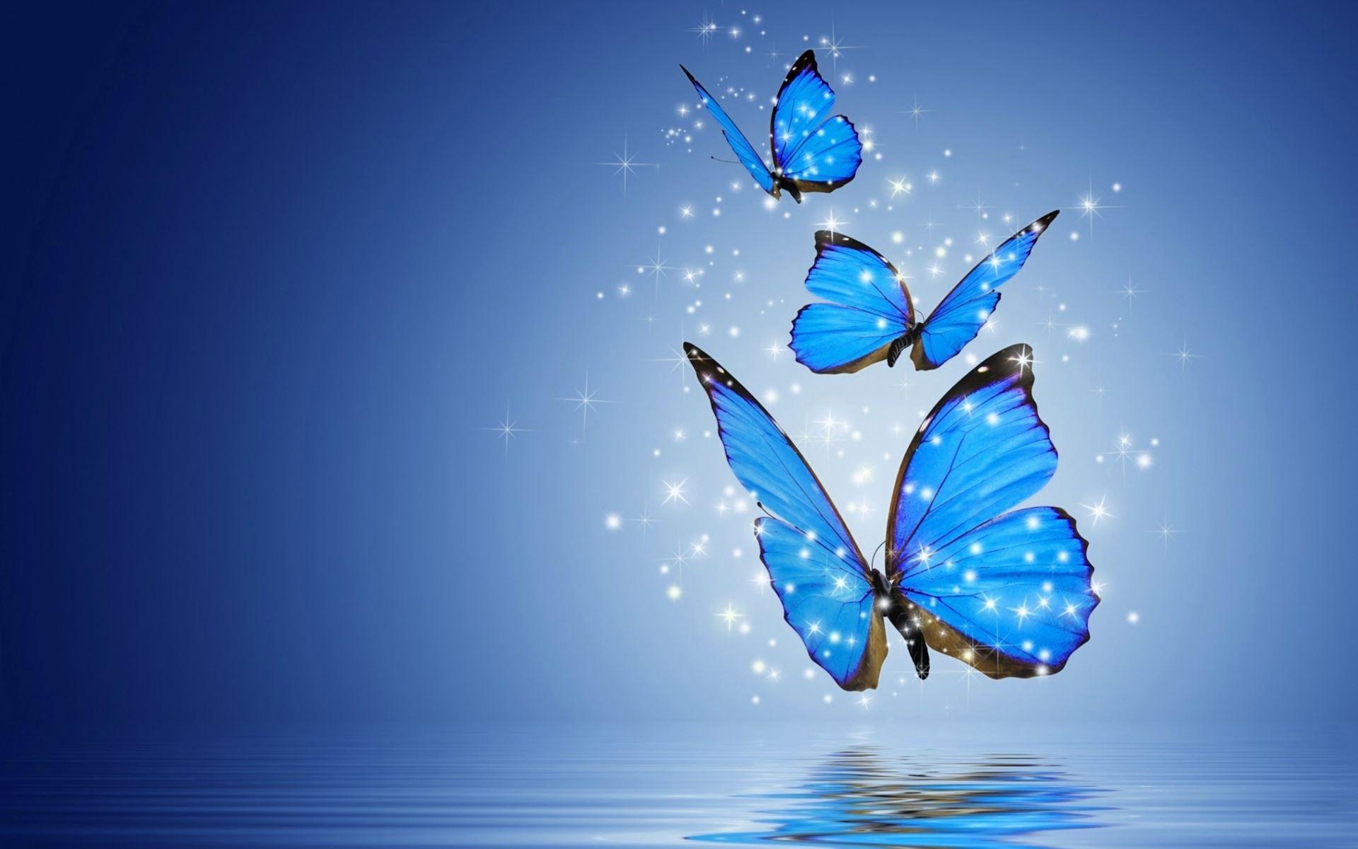 Hình nền những chú bướm 3D đẹp cho máy tính