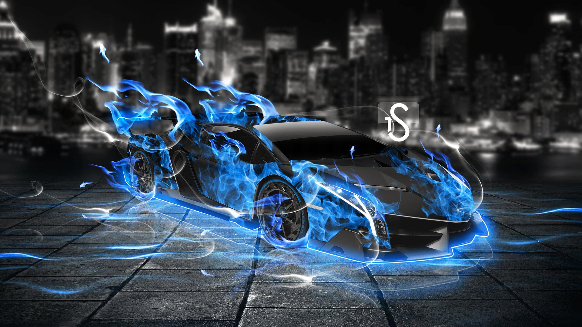 Hình nền siêu xe 3D cho máy tính