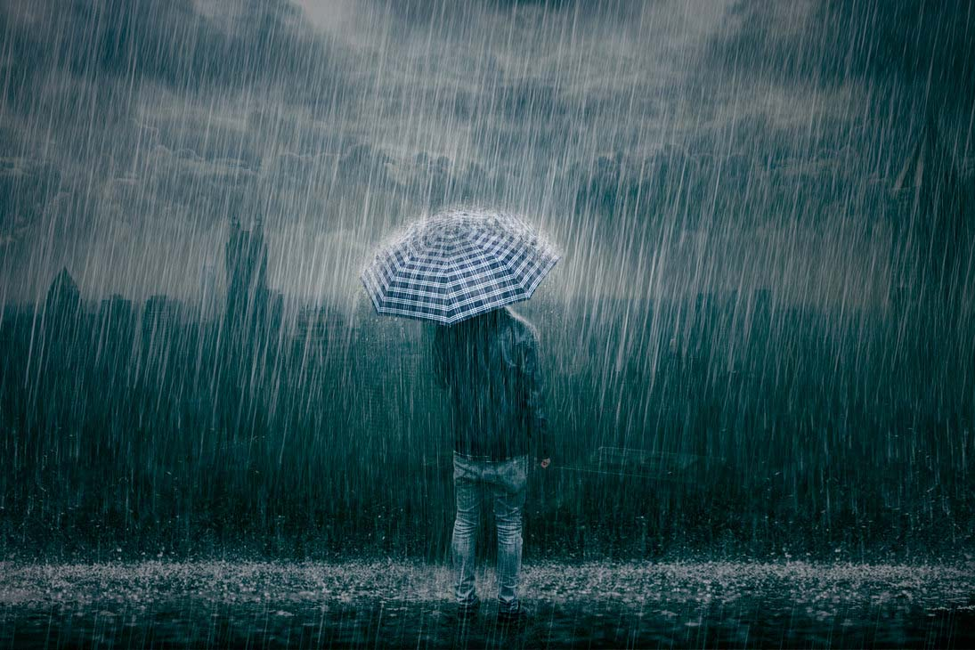 Hình ảnh mưa buồn đẹp nhất