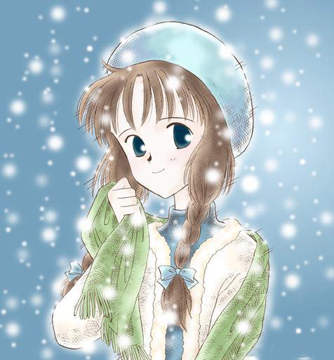 Ảnh anime girl cá tính và cute