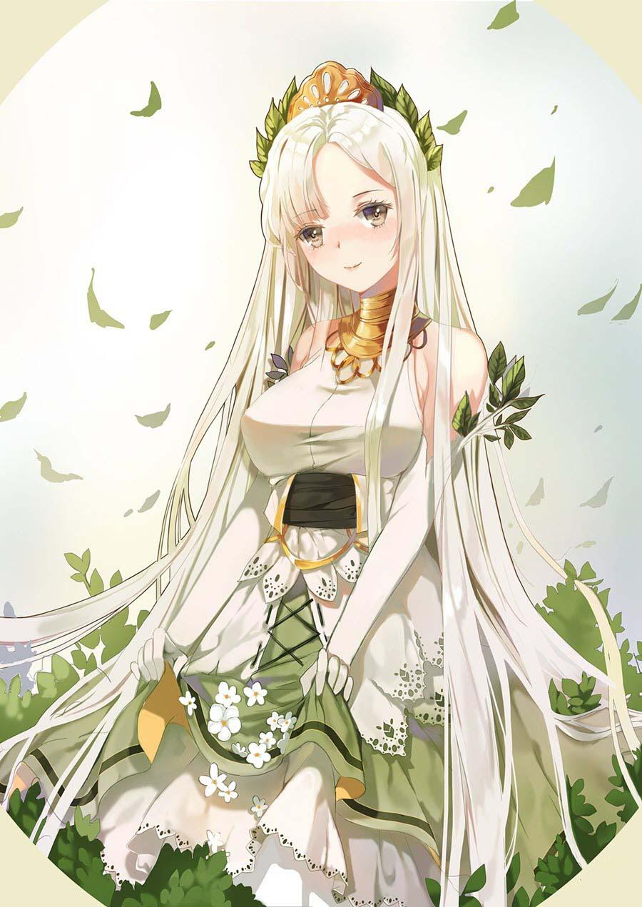 Ảnh đẹp anime girl cá tính, dễ thương