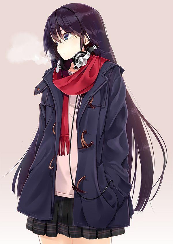Hình ảnh anime girl cá tính nhất