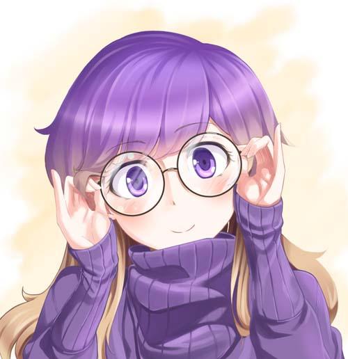 Hình ảnh anime girl dễ thương, cá tính