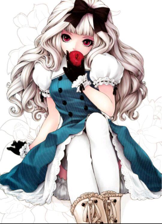 Hình ảnh đẹp anime girl cá tính dễ thương