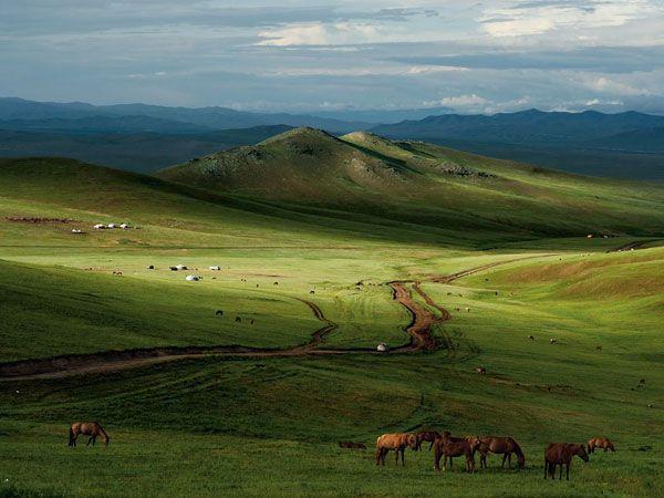 Ảnh đẹp thiên nhiên đồi núi hoang dã