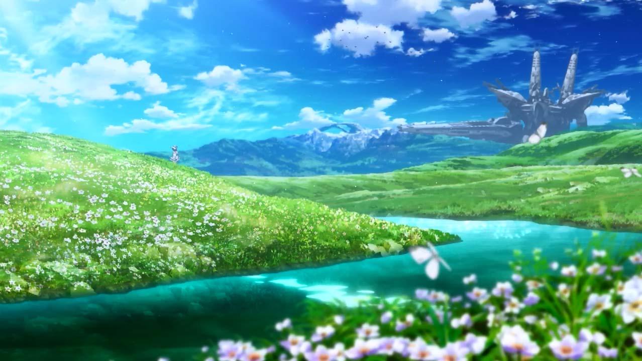 Ảnh anime phong cảnh đẹp