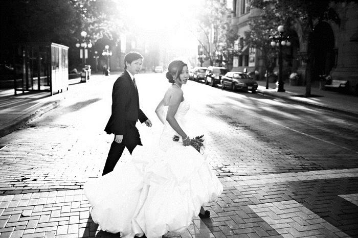 Ảnh cưới đen trắng đẹp