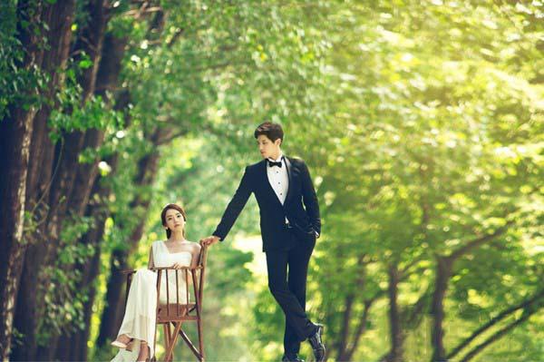 Ảnh cưới đẹp cặp đôi phong cách Hàn quốc