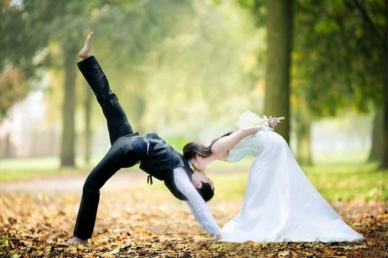 Ảnh cưới đẹp phong cách lạ