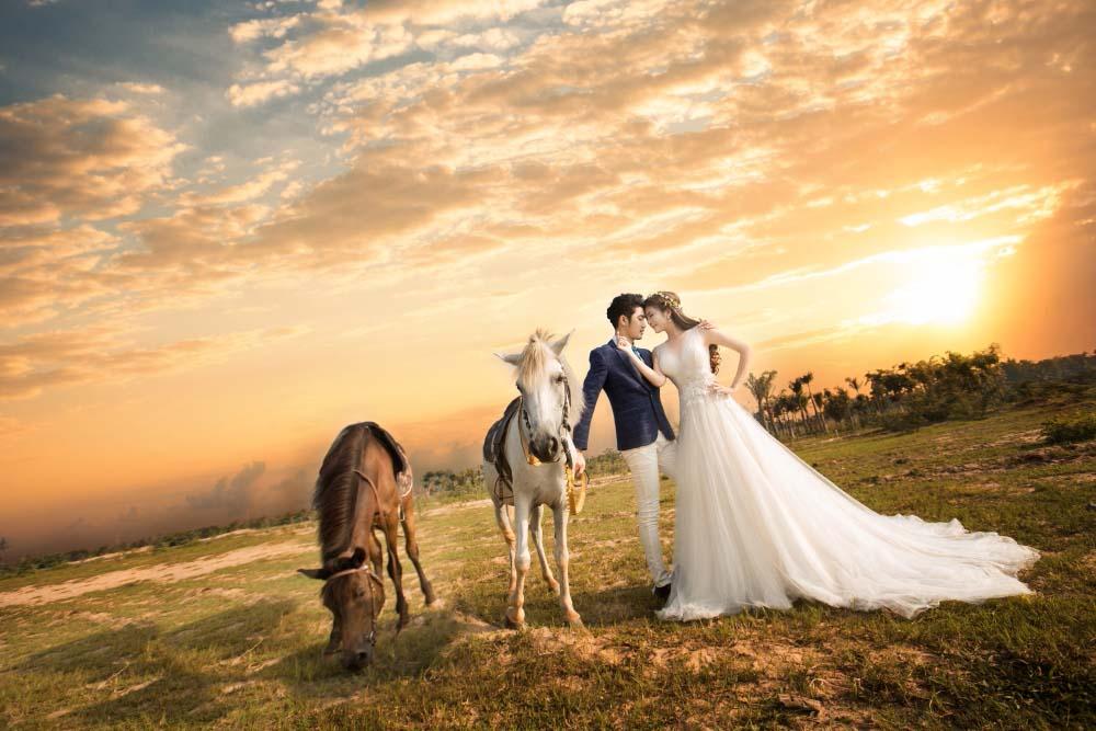 Ảnh cưới lạ và đẹp