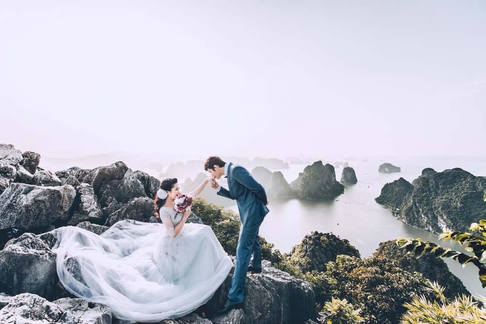 Ảnh cưới lãng mạn của các cặp đôi