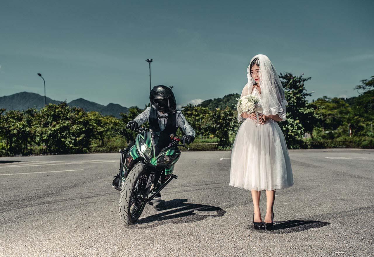Ảnh cưới phong cách độc đáo