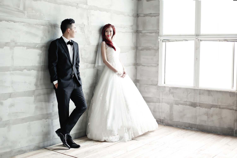 Ảnh cưới phong cách hàn quốc đẹp