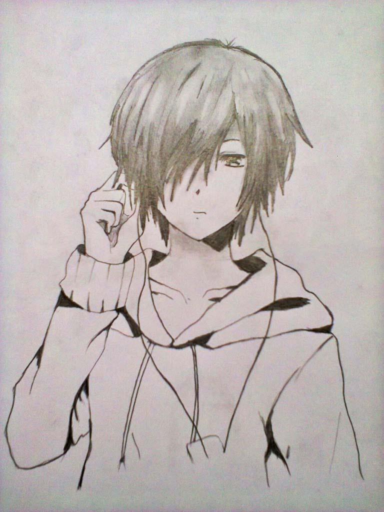 Ảnh vẽ anime boy đẹp