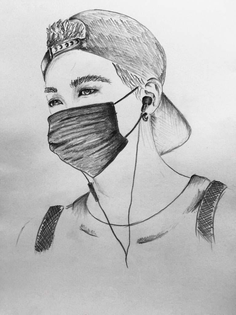 Ảnh vẽ boy kpop đẹp