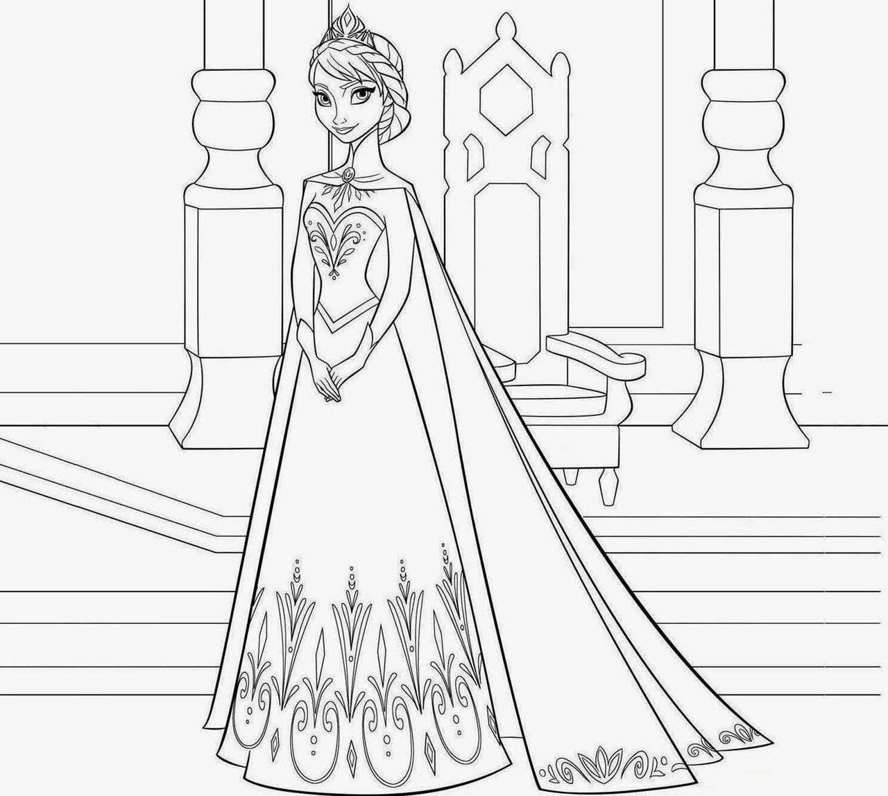 Ảnh vẽ công chúa elsa đẹp