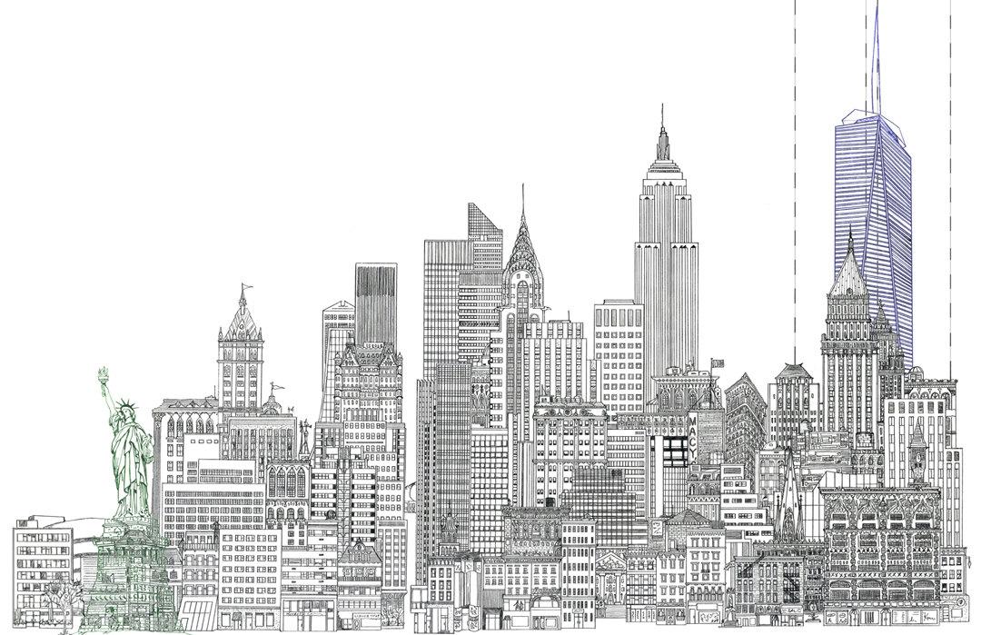 Ảnh vẽ thành phố đẹp