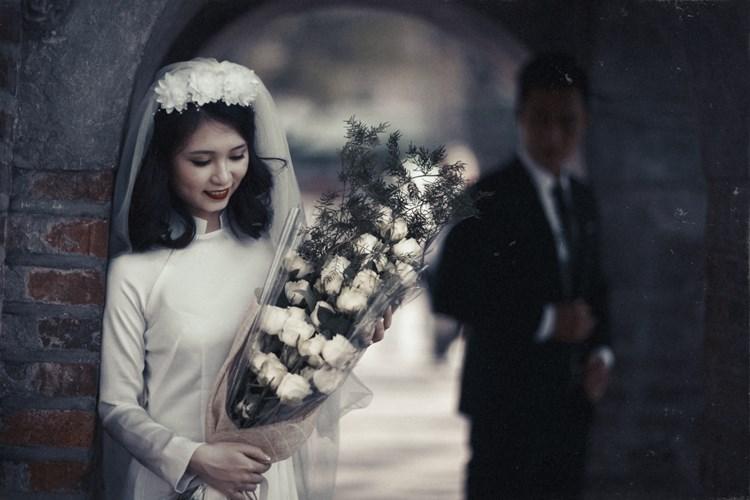Hình ảnh cưới cổ điển đẹp