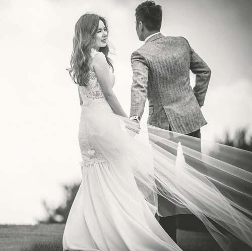 Hình ảnh cưới đen trắng đẹp nhất