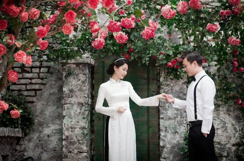 Hình ảnh cưới đẹp phong cách xưa