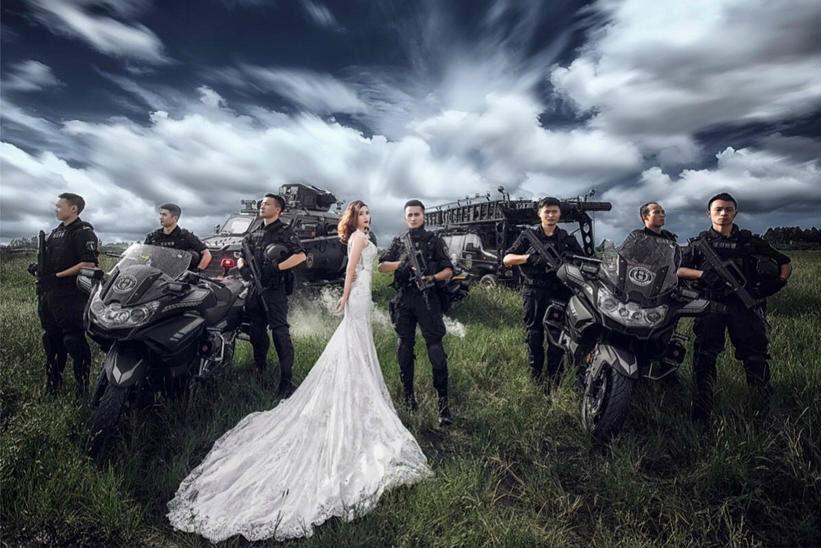 Hình ảnh cưới ngầu và đẹp