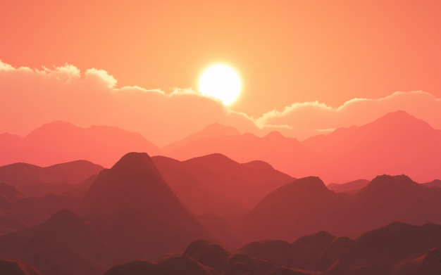 Hình ảnh đẹp phong cảnh chiều tà