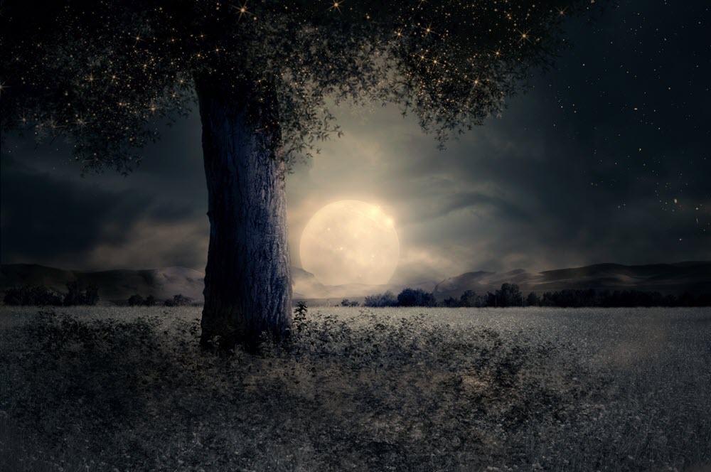 Hình ảnh phong cảnh đêm đẹp