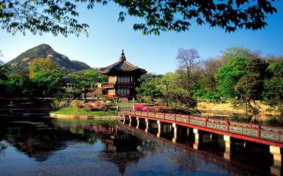 Hình ảnh phong cảnh Hàn Quốc đẹp