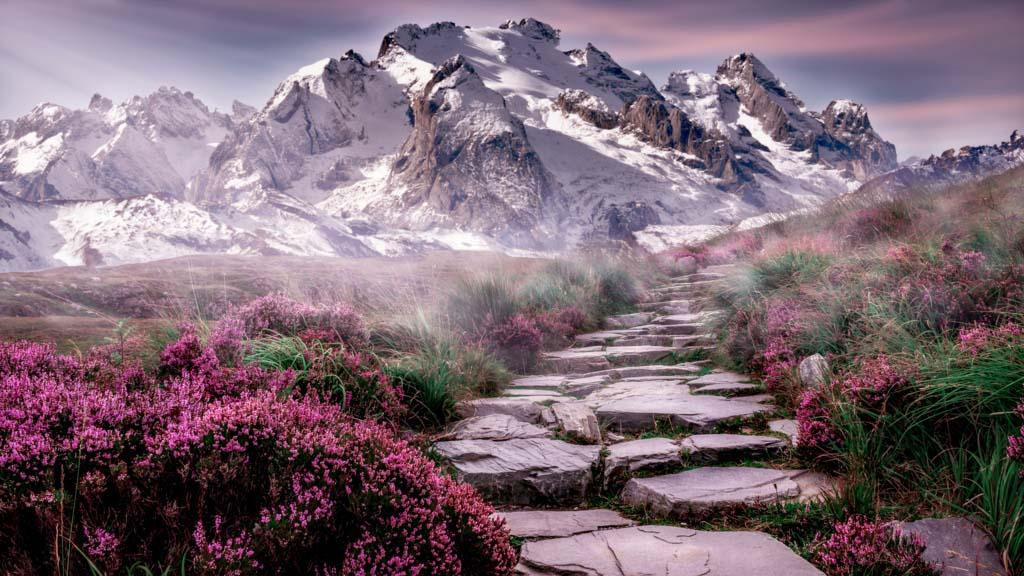 Hình ảnh phong cảnh núi