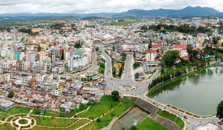 Hình ảnh phong cảnh thành phố Đà Lạt đẹp