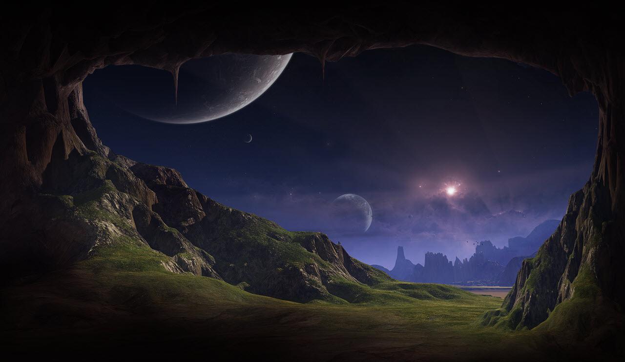 Hình ảnh phong cảnh vũ trụ đẹp