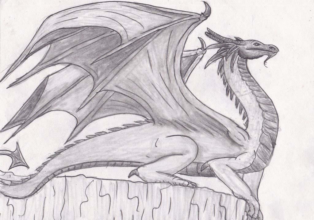 Hình ảnh vẽ con rồng đẹp