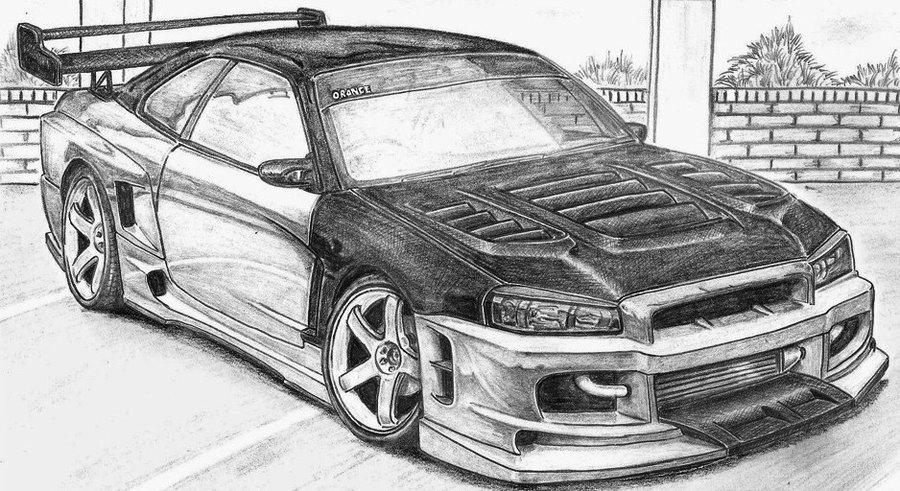 Hình ảnh vẽ ô tô đẹp