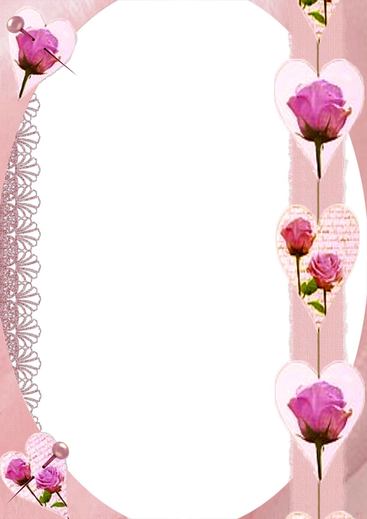 Khung ảnh hoa hồng đẹp